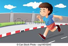Image result for running obstacle course, clipart