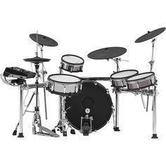 Roland TD-50KVX V-Drums Electronic Drum Set with KD-220 Bass Drum