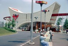 The AMF Monorail station for the 1964-1965 New York Worlds Fair.