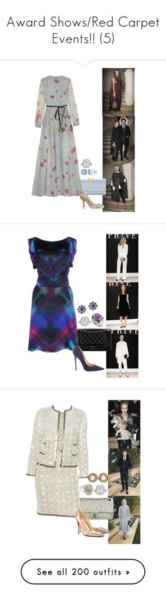 """""""Award Shows/Red Carpet Events!! (5)"""" by foreverforbiddenromancefashion ❤ liked on Polyvore featuring Valentino, CÉLINE, Dana Buchman, Chanel, Armani Collezioni, Jimmy Choo, Fabergé, Christian Louboutin, Tom Ford and Fendi"""