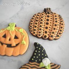 Yayoi, Pumpkin Cookies, Halloween Cookies, Mavis, Sugar, Inspired, Desserts, Instagram, Food