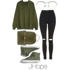"""J-Hope ~[⭐❤⭐]~Bts inspired Outfits "" Korean Fashion Kpop, Kpop Fashion Outfits, Korean Outfits, Teen Fashion, College Outfits, Outfits For Teens, Girl Outfits, Simple Outfits, Casual Outfits"