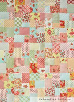Double Slice Layer Cake Quilt Pattern Free : 1000+ ideas about Layer Cake Quilts on Pinterest Quilts ...