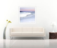 Extra large wall art - pink beach abstract - modern art scottish landscape - Very Large Photography - oversized art - FREE SHIPPING