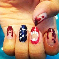 Halloween nails #1
