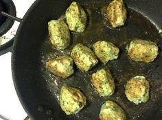 Green Chicken Meatballs | salt sugar and i
