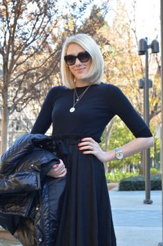 Sarah's Ambitions | Paris in California | black midi skirt outfit
