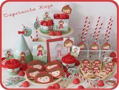My Little Party Blog. Fiesta Caperucita Roja