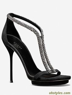 Wish I had the balance and coordination to wear these, they are hott! Gucci Shoes Fall/ Winter 2013 Collection