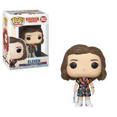 Buy Stranger Things Eleven in Mall Outfit Funko Pop! Vinyl from Pop In A Box UK, the home of Funko Pop Vinyl subscriptions and more. Worldwide delivery available! Stranger Things Merchandise, Stranger Things Funko Pop, Stranger Things Characters, Stranger Things Aesthetic, Stranger Things Season 3, Stranger Things Funny, Eleven Stranger Things, Mall Outfit, Funko Pop Dolls