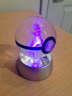 Mewtwo Pokemon Pokeball by PokeMasterCrafter on Etsy