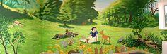 Snow White Mural Disney Murals Snow White Murals