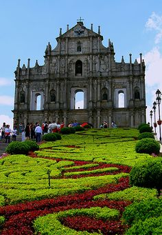 Ruins of St. Paul church, Macau, China (by Maria Ismawi) Places Around The World, Oh The Places You'll Go, Places To Travel, Places To Visit, Around The Worlds, Travel Destinations, Macau Travel, China Travel, Beautiful World