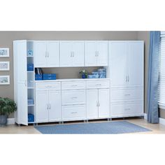 Systembuild System By Ameriwood 2 Drawer Door Utility Storage Cabinet White