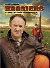 One of the all-time greatest basketball movies. AND it's true! Hackman plays an unemployed college basketball coach who manages to take a high school basketball team to the state championships!