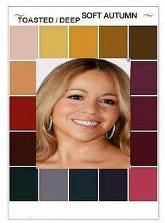 Soft Autumn Deep, Warm Autumn, Skin Undertones, Warm Undertone, Strawberry Tart, Dark Complexion, Seasonal Color Analysis, Fall Color Palette, Hot Hair Styles