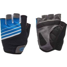 Bell Sports Ramble 500 Half-Finger Cycling Gloves, Blue/White