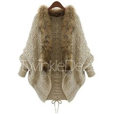 New Winter Women Cardigan Pull Femme Poncho Overcoats Outerwear Coat Tops Womens Sweater Knitted Casual Female Jacket Batwing Cardigan, Batwing Sleeve, Knit Cardigan, Shawl Cardigan, Brown Cardigan, Cardigan Outfits, Oversized Cardigan, Knitted Poncho, Open Cardigan