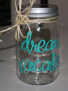 DREAM VACATION ... 16 oz. Mason Jar Bank