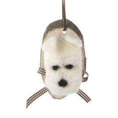 Hanging Woolen Dog