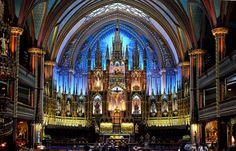 beatae-memoriae:    Encore Notre-Dame, Montreal. by maxkolbemedia on Flickr.