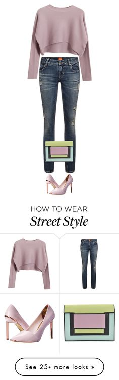 """""""street style"""" by ecem1 on Polyvore featuring Chicnova Fashion, Ted Baker and Pierre Hardy"""