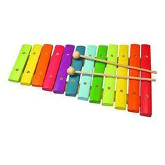 Ξυλόφωνο χρωματιστό 12 νότες «Rainbow»