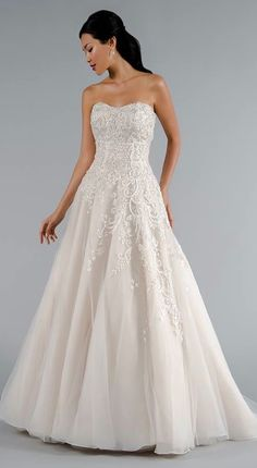 pretty wedding dress from Mark Zunino