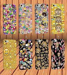 Funny emojicons emoji Teléfono Estuche Cubierta para iPhone 6s 7 7 Plus 5s Y Samsung