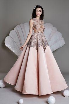 Beautiful Blush Ball Gown