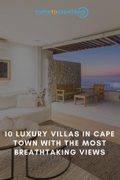 Looking for the best views in town? We've put together a list of villas that offer the very finest views. These luxury villas in Cape Town are sure to make you want to pack your bags and head off on holiday!