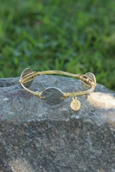 Bourbon and Boweties Coin Bangle