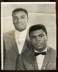 With brother Rahman Ali