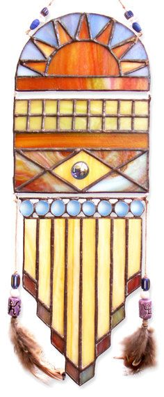 Custom Native American SunCatcher