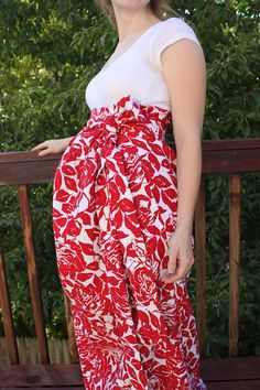 maternity dress sewing tutorial