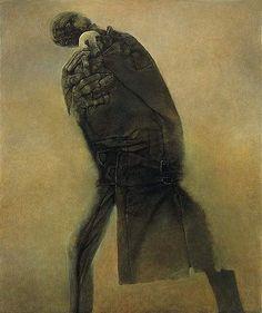 Sharing my favourite artist - Zdzisław Beksiński Mark Riddick, Macabre Art, Art Database, No Photoshop, Visionary Art, Gothic Art, Horror Art, Surreal Art, Artist Art