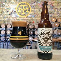 mybeerbuzz.com - Bringing Good Beers & Good People Together...: Modern Times - Monster's Park Bottles & Bourbon Ba...