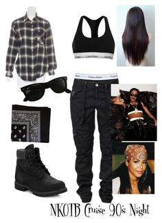 Calvin klein underwear, ray-ban, timberland and clothing aaliyah costume, a Black 90s Fashion, Fashion Guys, 90s Fashion Grunge, Tomboy Fashion, Fashion Outfits, 90's Hip Hop Fashion, Rock Fashion, Tomboy Outfits, Aaliyah Outfits