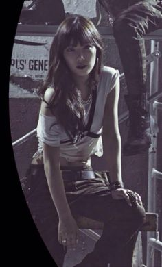150327 Japan new album 'Catch me if you can' poster SNSD Taeyeon