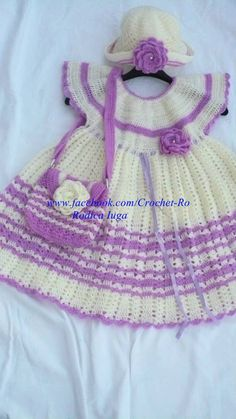 baby dressages 8 yearscan be made for any age por CrochetRo en Etsy