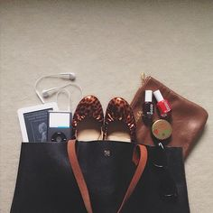 Packing a few of the essentials for road trip to PEI tmr #totewell Web Instagram User » Followgram