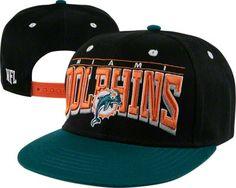 Miami Dolphins 2 Tone Hard Knocks Snapback Hat