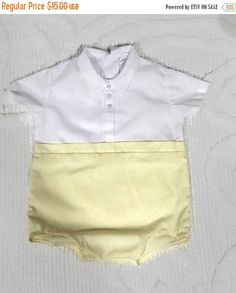 Clearance Sale Vintage Baby Boy Outfit 1950s One Piece by RayMels