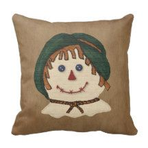 Scarecrow Pillow by MousefxArt.Com (Mouse Country Store)