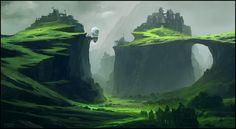 Fantastic Landscapes - Concept Art