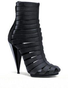 GUCCI Isadora Elastic Gladiator Platform Bootie Sandal
