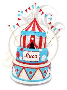 Caketutes Cake Designer: Bolo Circo - Circus Cake