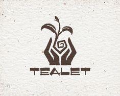 Plants logo design inspiration 22 ideas for 2019 Logo Inspiration, Clover Logo, Logo Garden, Tea Logo, Plant Logos, Letterhead Design, Hand Logo, School Logo, Great Logos