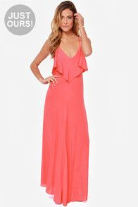 LULUS Exclusive Silent Lagoon Pink Maxi Dress at Lulus.com!