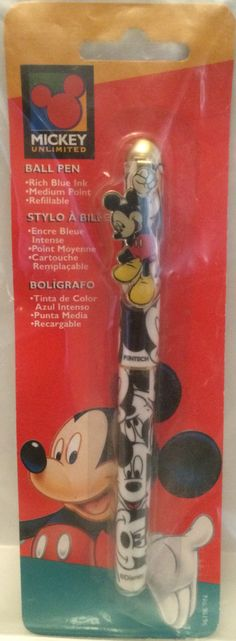 (TAS031956) - Disney Mickey Unlimited Mickey Mouse Ball Pen
